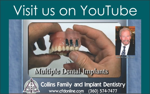 Visit Collins Family and Implant Dentistry on YouTube